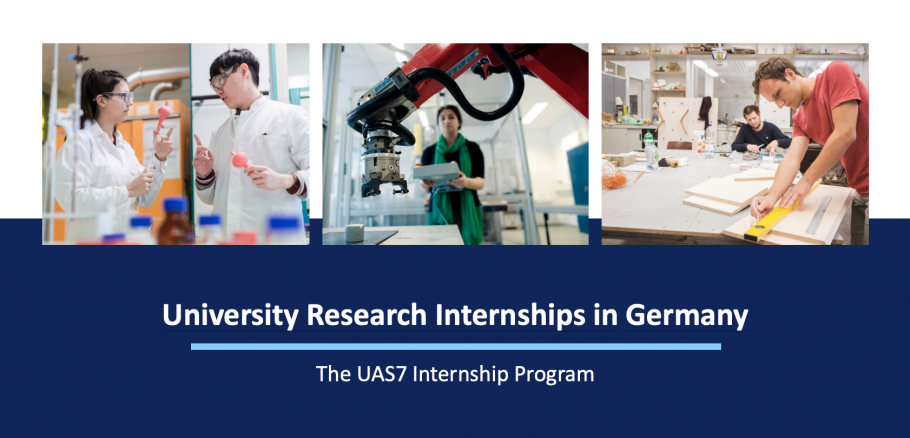 University Research Internships in Germany