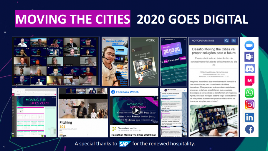 Moving the Cities 2020 goes digital