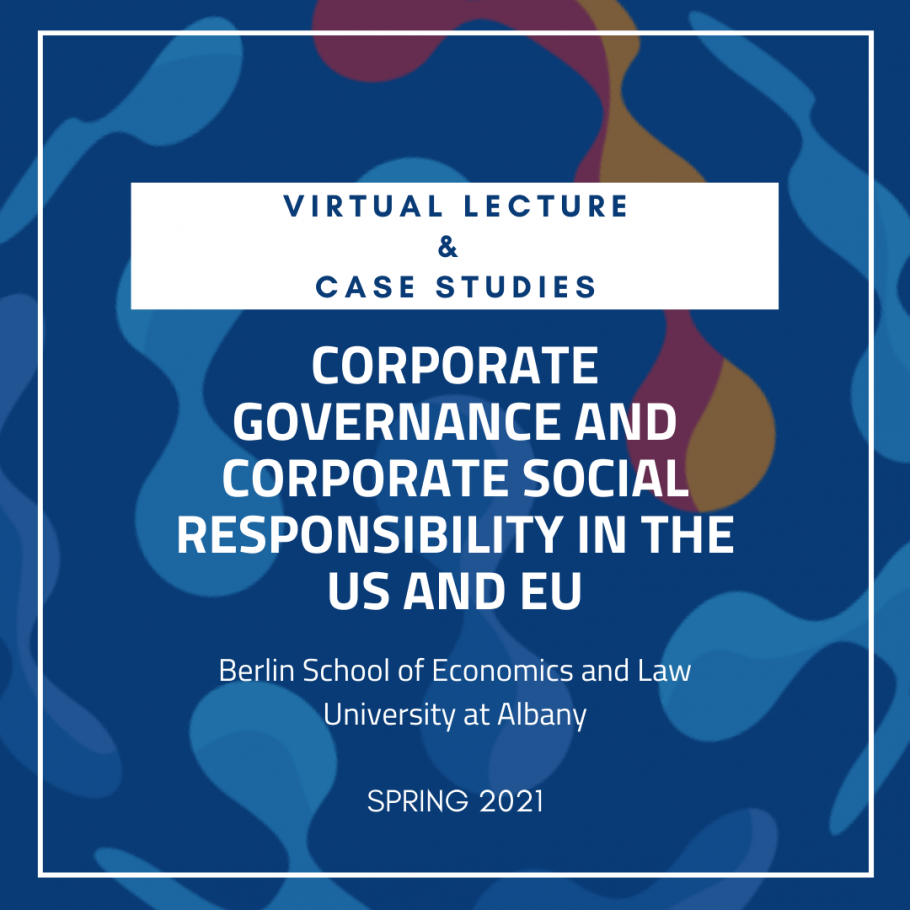 Virtual Lecture in Corporate Governance