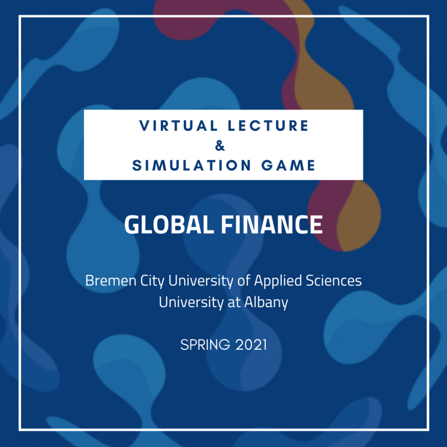 Virtual Lecture in Global Finance