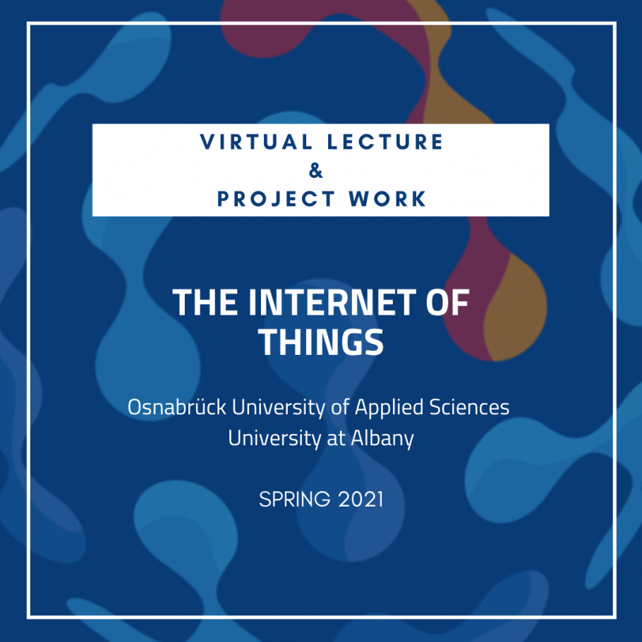 Virtual Lecture: The Internet of Things