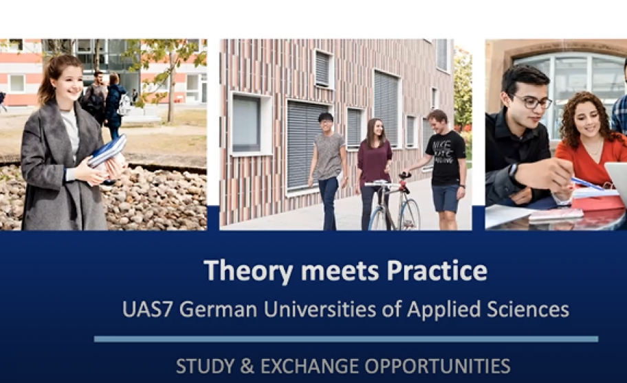 "Screenshot of Video presentation: ""Theory meets Practice"""