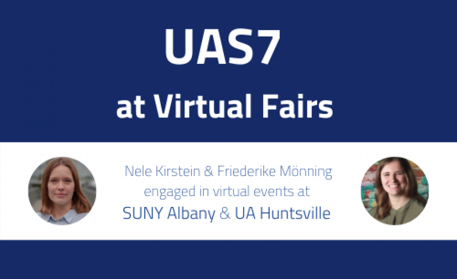 UAS7 at Virtual Fairs