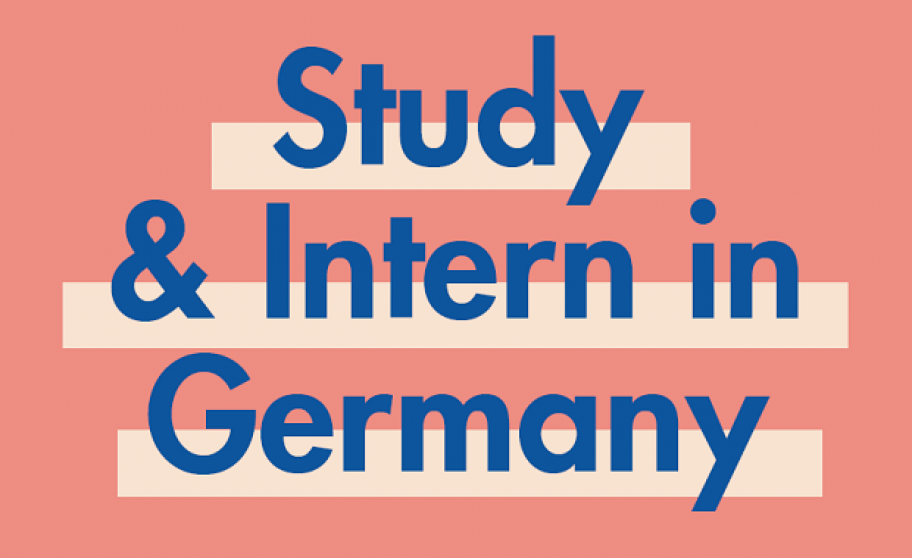 Text: Study & Intern in Germany